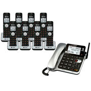 Atandt Cl84802 1.9ghz Dect 6.0 Corded /cordless Phone W/ Digital Answering System