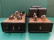 Icon Audio Ps3 Mk2 Mc/mm 2-chassis Tube Phonostage Preamp Point-to-point Wiring