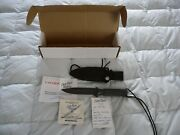 Chris Reeve Mark Vi Hollow Handle Knife Survival Expedition Combat
