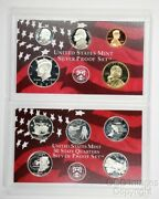 2002 San Francisco Silver Proof Set / Ogp Packaging / No Stickers Or Writing