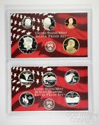 2007 San Francisco Silver Proof Set / Ogp Packaging / No Stickers Or Writing