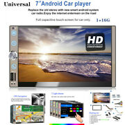 Wifi 7inch Hd 2din Mp5 Player Car Touch Screen Android10.0 Ahd Reversing Image