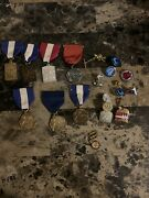 Vintage Music Medal Lot + A Small Pin Lot