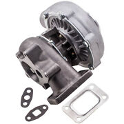 T3/t4 T04e Turbocharger 0.57 A/r 0.5 A/r For 1.6l-2.3l Engine Oil Cooled Upgrade