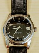 1956 Omega Seamaster Automatic Calender Menand039s Watch