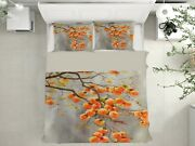 3d Persimmon Tree Nao3284 Bed Pillowcases Quilt Duvet Cover Set Queen King Fay