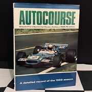Hand Signed Jackie Stewart Autocourse 1969 70 Annual Yearbook F1 Matra Champion
