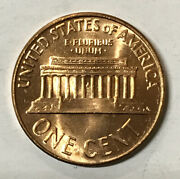 1996-d Uncirculated Lincoln Memorial Cent / Penny