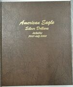 Dansco 8181 Complete Collection Of American Silver Eagles 1986-03 Proof And Uncs