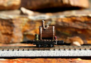 1 N Scale Lil Butler Mk5 Logging Mining Train Painted Old West Water Tank Car