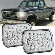 Pair 7x6and039and039 5x7and039and039 Led Headlights Hi/lo Sealed Beam Fit For Ford F-150 F-250 F-350