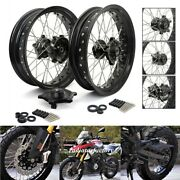 Complete 17 X 3.5 Front And 17 X 4.25 Rear Wheels Cush Drive Set For Bmw G310r