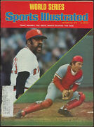 1975 Johnny Bench And Luis Tiant Sports Illustrated