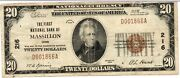 1929 20 The First National Bank Of Massillon Ohio Oh - D001866a Charter 216