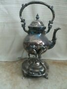 Trade Mark Crown 1883 F B Rogers Silver Co Silver On Copper 2351 Carafe Teapot