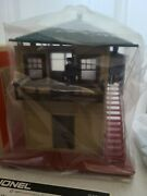 Lionel 6-2324 Operating Switch Tower For O Scale New In Box In Sealed Bags
