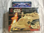 Star Wars Episode 1 Trade Federation Tank Complete Retro Toy Figure Moc