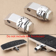 Motorcycle Chrome Floorboards Mount Adapters For Honda Shadow Ace Vt750cd Deluxe