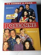 Roseanne Dvd Season 1 And 2 - Tv Combo 2-pack - 6 Discs - 47 Episodes