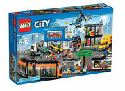 New Retired Lego City 60097 City Square Tram Garage Truck Toy Building Set