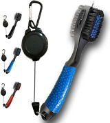 500 X Wholesale Golf Club Brush Cleaner And Retractable Groove Sharpening Tool.