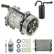 For Dodge Ram 1500 And Ram 2500 1994-1997 Oem Ac Compressor W/ Condenser Drier Tcp