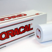 24 X 30 Ft Roll Of Oracal 651 White Vinyl On 3 Inch Core For Craft Cutters And