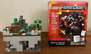 Lego Minecraft 21106 The Nethernew And 21102 The Forrest Used