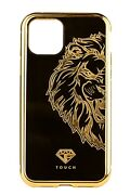 24k Gold Luxury Magnetic Case For Iphone 12 Range - Lion Edition