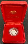 2017 1 One Dollar Fine Silver Proof Coin Year Of The Rooster Royal Aus Mint