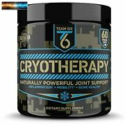 T6 Cryotherapy - Natural Joint Support Supplement | Arthritis Pain Relief, Anti