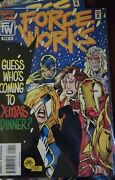 Marvel Comics Force Works 7/1994-12/1995 Issues 1 2347891011131718