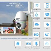 360-degree Smart Wireless Wifi Connection Outdoor Waterproof 1080p Dome Camera