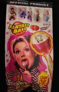 Vintage Spice Girls Ginger 🍭 Sealed Chupa Chups Fantasy Ball '97 Candy Lollipop
