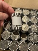 1 Half Dollar Bank Roll 10 Face Value 20 Coins/roll Circulated, Mixed Dates