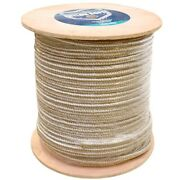 Attwood Boat Double Braided Rope 117625-1 | 3/4 X 600and039 Gold Roll