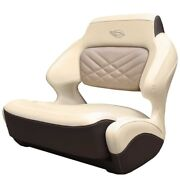 Chaparral Boat Helm Seat 31.00759 | 307 Ssx Wide Bolster Cream Brown