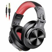 A71 Wired Over Ear Headphones, Studio Headphones With Shareport, Red