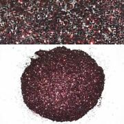 Boat Auto Motorcycle Truck Metal Glitter Flake | Burgundy Red 8oz