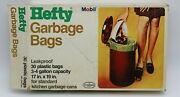 Hefty Garbage Bags From Mobil Chemical Company Vintage Mid Century Modern