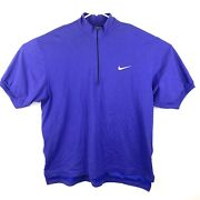 Vintage Nike Size L Andre Agassi Challenge Court Tennis Ball Pocket Polo Shirt
