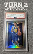 2012-13 Panini Select Stephen Curry Silver Refractor Prizm 39 Psa 8 Nm-mt