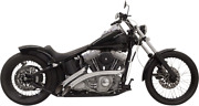 Bassani Chrome W/chrome Heat Shield Radial Sweepers Exhaust System 1sd1f