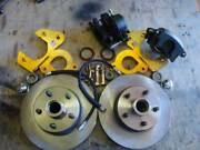 1962 1963 1964 1965 1966 Ford Galaxie Front Disc Brakes Cross Drill Rotors