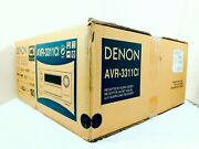 Denon Avr-3311ci Home Theater Receiver With 3d-ready Hdmi Dolby New Open Box