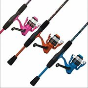 Shakespeare Amphibian Blue Or Pink 5andrsquo6andrdquo Two Piece Medium Action Rod And Reel