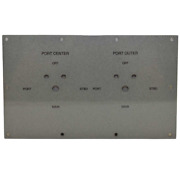 Hydra Sport Boat Blank Ignition Panel Hs14223613 | Center Console Gray