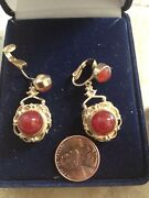Vintage Jewelry 1940and039s Clip On Earrings