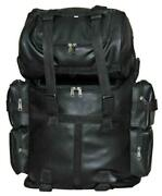 Motorcycle Large Pvc Soft Leather Sissy Bar Bag / Travel Bag With Free Shipping