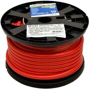 Smart Boat Marine Grade Battery Cable | 1/0 Awg Red 100 Ft Tinned